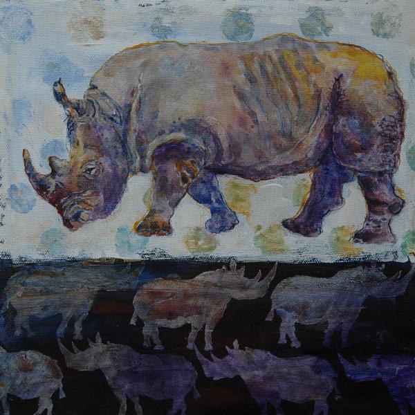 Rhinocerotidal  30x30x4