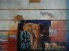 Dyr på Savannen 115x150 + ramme SOLGT